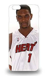 Iphone Slim Fit Tpu Protector NBA Miami Heat Chris Bosh #1 Shock Absorbent Bumper 3D PC Soft Case For Iphone 6 Plus ( Custom Picture iPhone 6, iPhone 6 PLUS, iPhone 5, iPhone 5S, iPhone 5C, iPhone 4, iPhone 4S,Galaxy S6,Galaxy S5,Galaxy S4,Galaxy S3,Note 3,iPad Mini-Mini 2,iPad Air )