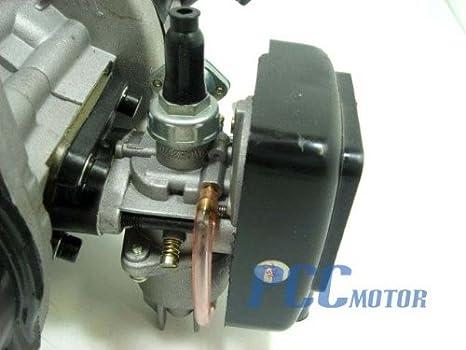 7LMF Mini Pocket Bike 2 Stroke Engine Motor 49cc Parts EN02