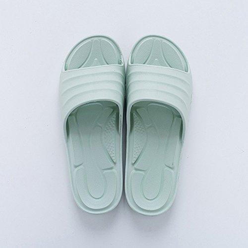 couleurs l'intérieur en bain confortables Accueil à l'intérieur femmes taille facultative pour A la mode plat de maison Pour Chaussons chaussures option femmes antidérapants à HAIZHEN femme 3 plat xqw1f6Yc7R