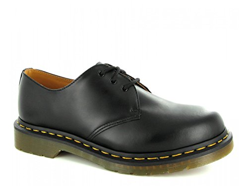 Dr. Martens 1461 Airwair Classic - Zapatos de piel suave, color negro, talla 5 UK