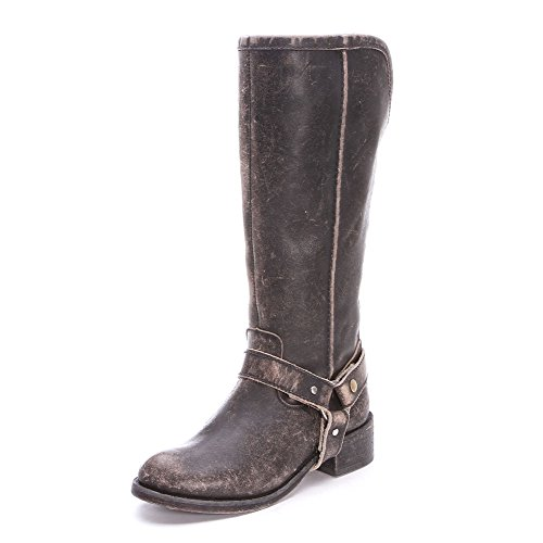 Corral Womens New - CORRAL New P5099 Tall & Harness Black 9 Womens Western Boots