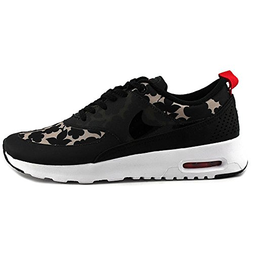 NIKE Women's Wmns Air Max Thea Lib QS, Liberty-Vachetta Tan/Black-Light Crimson-Sail black