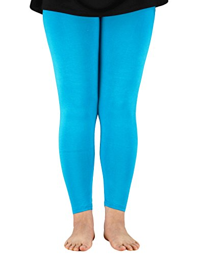 Zando Womens Elastic Breathable Daily Plus Size Soft Comfort Skinny Fit Stretchy Full Length Ankle Leggings Yoga Pants