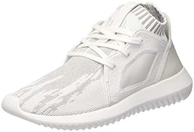 adidas Originals Tubular Defiant Primeknit Womens Trainers/Shoes - Black-White-5