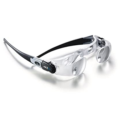 Image of 2.1X Eschenbach Max TV Glasses Distance Viewing 3D Glasses