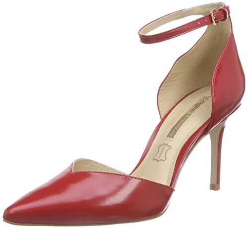 Buffalo London Zs 5003-15 Box - Atado al Tobillo Mujer Rojo - Rot (RUBY 02)