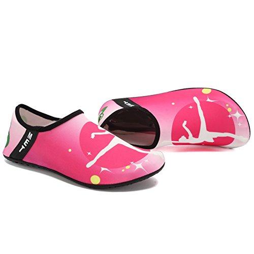 Chaussures Deau Cior Pieds Nus À Séchage Rapide Aqua Yoga Chaussettes Slip-on Pour Hommes Femmes Enfants Ballet