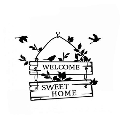 Amazon com: Welcome Home Decoration Bird Tree Character