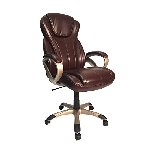 Z-Line Designs Oversized Executive Chair, Brown (Task Designs Chair Z-line)