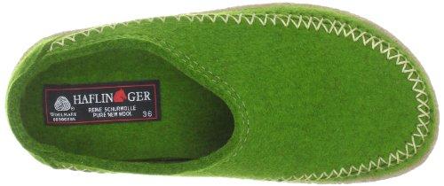 Haflinger Credo, Chaussons Mixte Adulte Vert (36 Grasgrün)