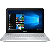 Newest ASUS VivoBook Pro 15.6 4K UHD Touchscreen Flagship Premium Gaming Laptop PC | Intel i5-6300HQ Quad-Core | NVIDIA GeForce GTX 950M with 2GB | 8GB RAM | 256GB SSD + 1TB HDD | Windows 10