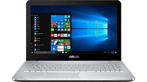 Newest ASUS VivoBook Pro 15.6' 4K UHD Touchscreen Flagship Premium Gaming Laptop PC | Intel i5-6300HQ Quad-Core | NVIDIA GeForce GTX 950M with 2GB | 8GB RAM | 256GB SSD + 1TB HDD | Windows 10
