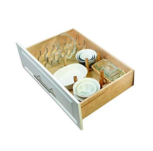 - Rev-A-Shelf Large 39 x 21 Wood Peg Board, Natural