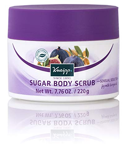 Kneipp Fig Milk & Argan Oil Sugar Body Scrub, 7.76 oz