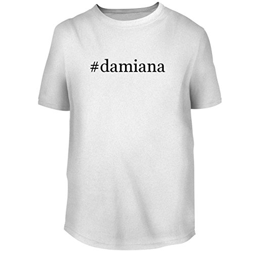 Tee Damiana (BH Cool Designs #Damiana - Men's Graphic Tee, White, Small)
