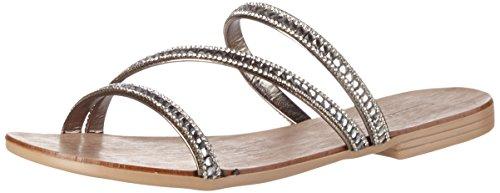 ESPRIT Nil Sandal, Women's Sandals Grey (015 Gunmetal)