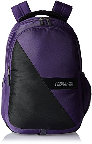American Tourister Encarta Purple Casual Backpack (Encarta 05_8901836132960)