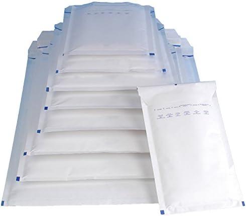 50 Luftpolsterversandtaschen Luftpolstertaschen Gr. E/5 weiß ( 240 x 275 mm ) DIN B5