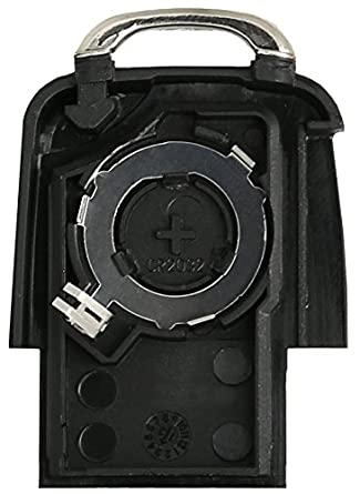 Volkswagen Llave * Volkswagen Carcasa para Llave de 3 Botones * Volkswagen Llave Carcasa Cambiar: Amazon.es: Electrónica