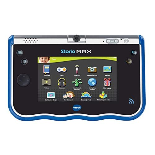 "VTech 183805 - Tablette Tactile - Storio Max 5"" - Bleu"