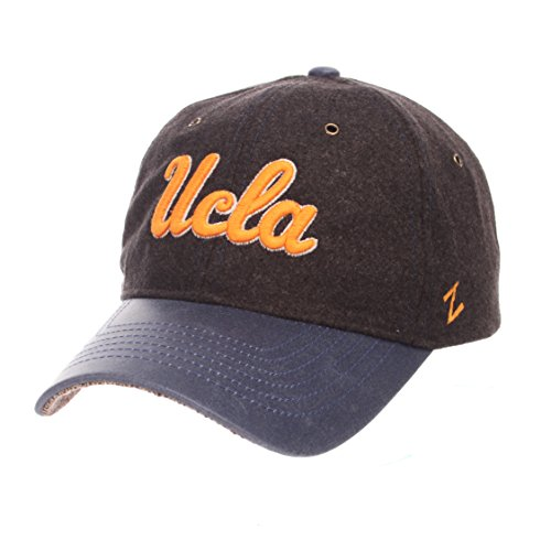 NCAA UCLA Bruins Adult Men Alum Heritage Collection Hat, Adjustable, Heather Gray