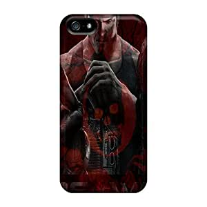 Bumper Cell-phone Hard Covers For Iphone 5/5s With Provide Private Custom Colorful Gears Of War 3 Pictures TanyaCulver