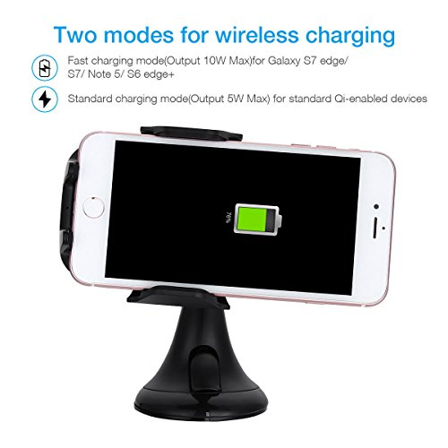 on sale Qi Wireless Car Fast Charger Charging Stand Dock For Samsung