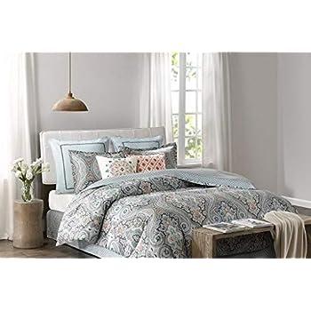 Amazoncom Echo Sardinia Queen Comforter Set Home Kitchen