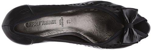 GERRY WEBER Shoes Kitty 01 Damen Peep-Toe Pumps Schwarz (schwarz 100)