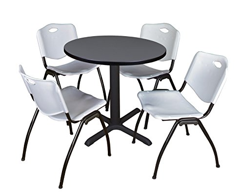Upc 843532025888 Cain 30 Round Breakroom Table Grey 4