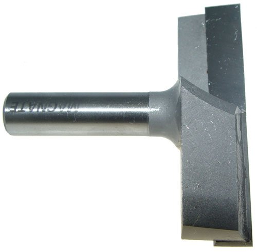 Magnate 2709 Surface Planing (Bottom Cleaning) Router Bit - 3'' Cutting Diameter by MAGNATE