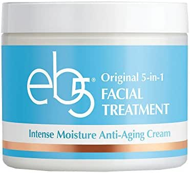 eb5 Intense Moisture Anti-Aging Face Cream | Tone & Tighten Skin with Retinol, Fade Fine Lines (4 oz)