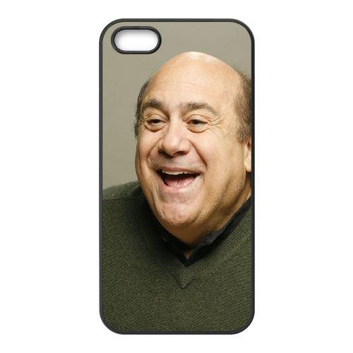Danny Devito Celebrity Laughter Hollywood coque iPhone 4 4S cellulaire cas coque de téléphone cas téléphone cellulaire noir couvercle EEEXLKNBC24409