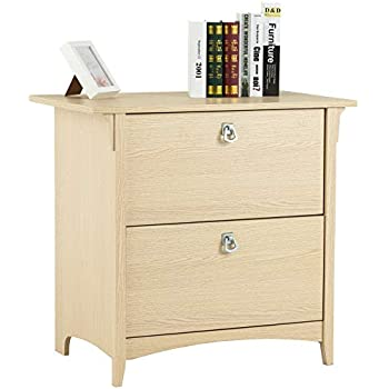 Amazon Com Mecor Lateral File Cabinet With 2 Drawers