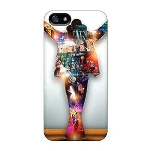 GoldenArea Premium Protective Hard Case For Iphone 5/5s- Nice Design - Michael Jackson