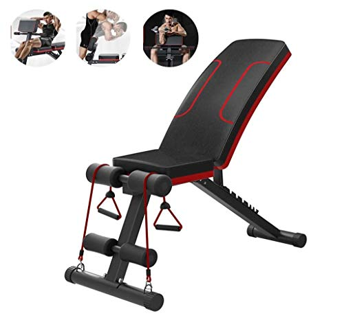 Folding Weight Bench Foldable Workout Bench For Home Gym Exercises Easy Storage Home Fitness Equipment Multi Use…
