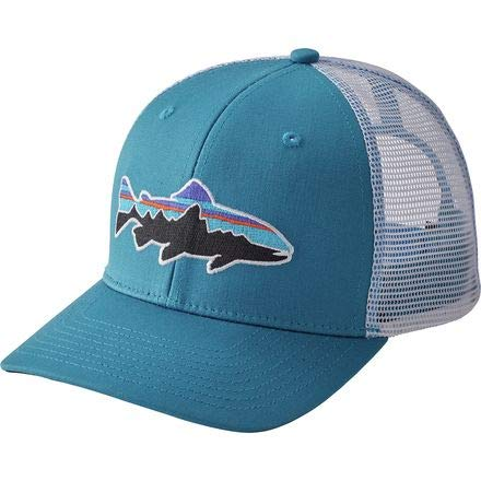 Patagonia Fitz Roy Trout Trucker Hat (Lumi Blue)