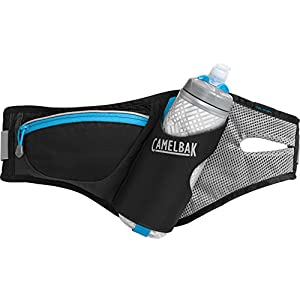 CamelBak Delaney Hydration Waist Pack, Black/Atomic Blue, One Size