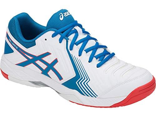 ASICS Men's Gel-Game 6 White/Race Blue 11.5 D US D