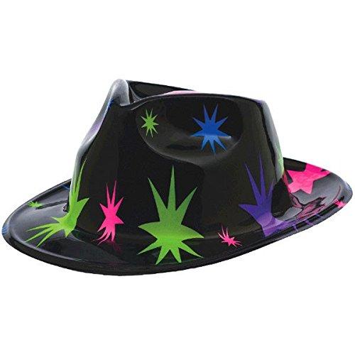 Amscan Disco Fever 70's Party Starburst Fedora Hat