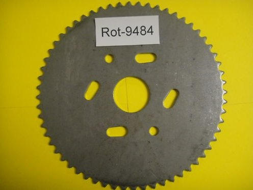 Drive Tooth Sprocket 60 - W.A.O. GO CART / MINI BIKE SPROCKET..60 TOOTH / # 35 CHAIN
