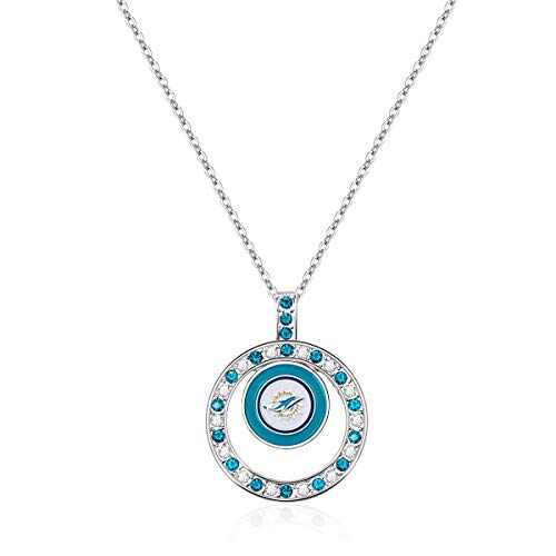Pro Specialties Group NFL Miami Dolphins Pendant Necklace