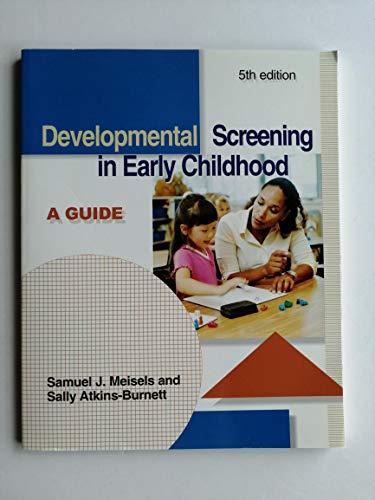 Developmental Screening in Early Childhood: A Guide (Best Sales Training Programs In The World)