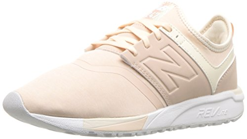 New Balance Women's 247v1 Sneaker, Cream Tan/Dew, 8 B US