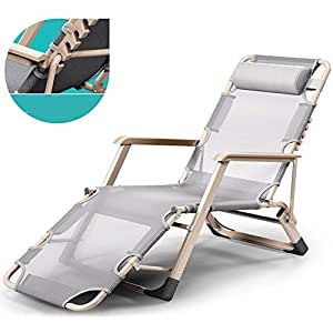 Amazon.com: Lounge Chairs ZHIRONG Sun Loungers Adjustable ...