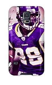 Hot Tpye Adrian Peterson Football Case Cover For Galaxy S5