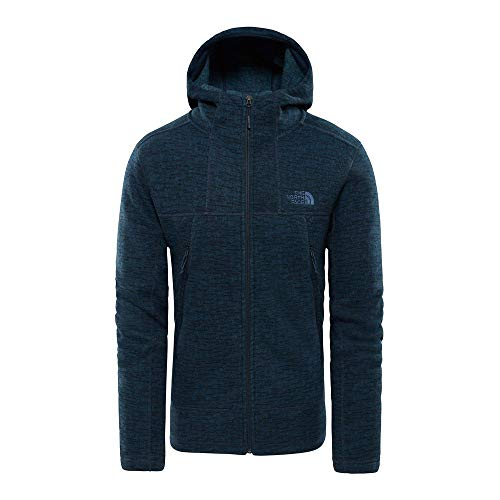 The North Face Men's Full Zip GL Alpine Hoodie Fleece Jacket