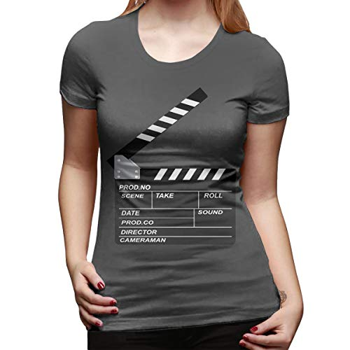 Atwood Louisa Openclipart Women's Short Sleeve T Shirt Color Deep Heather Size 29