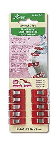 - Clover 3155 Wonder 10-Piece Clips