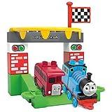 Mega Bloks Toy - Thomas and Friends - Thomas The Tank Engine & Bertie the Bus 15 Piece Playset